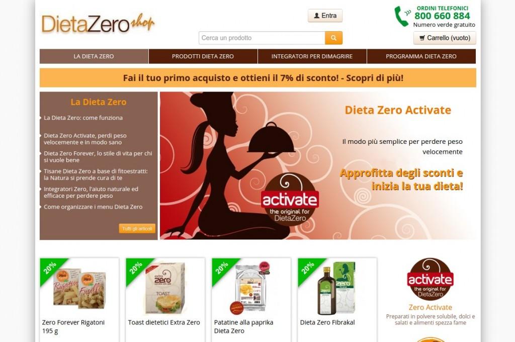 DietaZero shop